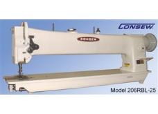 Consew Model 206RBL-25, Long Arm, Single Needle, Walking Foot, Lockstitch Machine