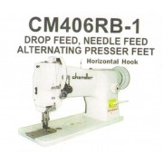 Chandler Model CM406RB-1, Single Needle Walking Foot Upholstery Machine. HEAD ONLY!
