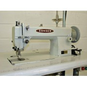 Consew Model 205RB, single needle walking foot lock stitch machine