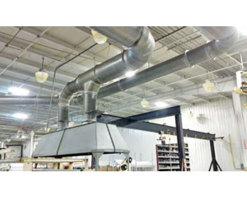 Over Head Exhaust System and Piping